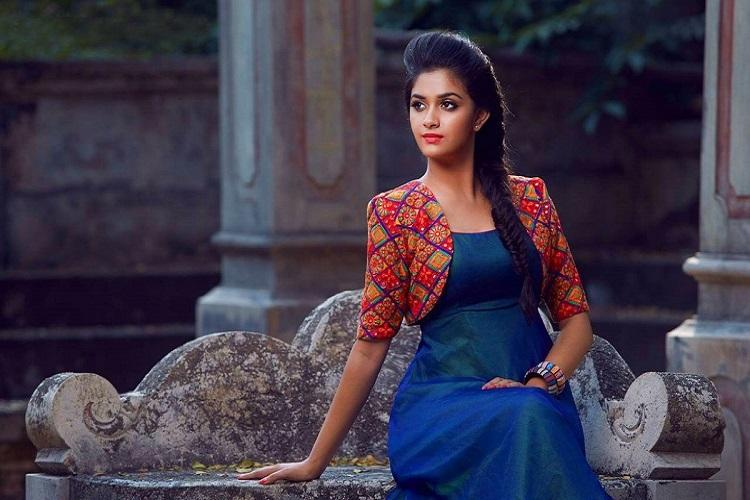 Bollywood Actress Keerthy Suresh Best New Video Gallery