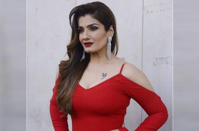 Bollywood Actress Raveena Tandon Best New Video Gallery